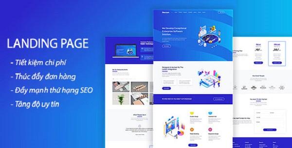 Doanh nghiệp kinh doanh online nên sử dụng LandingPage