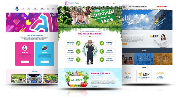 Thiết kế landing page quảng cáo