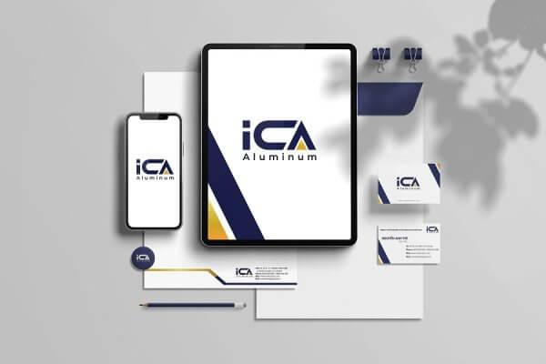 dự án thiết kế logo Công ty cổ phần đầu tư và dịch vụ ICA Việt Nam